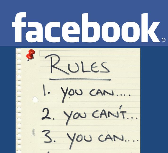 Reglas de Facebook