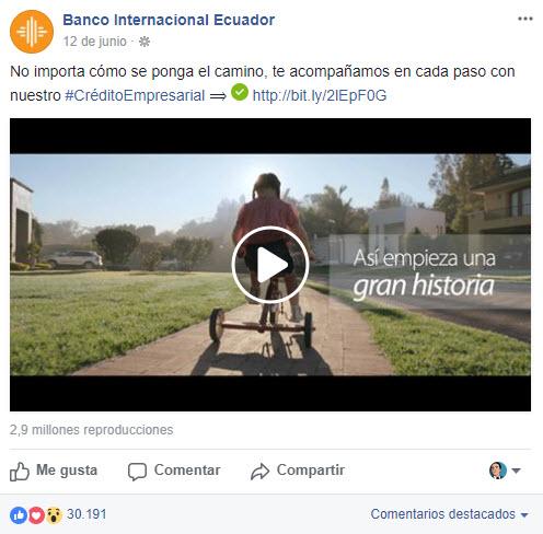 Mejores posts - Banco Internacional
